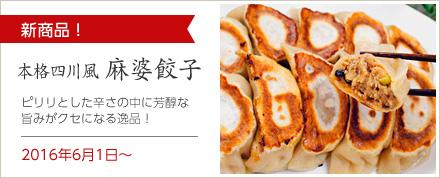 麻婆豆腐餃子